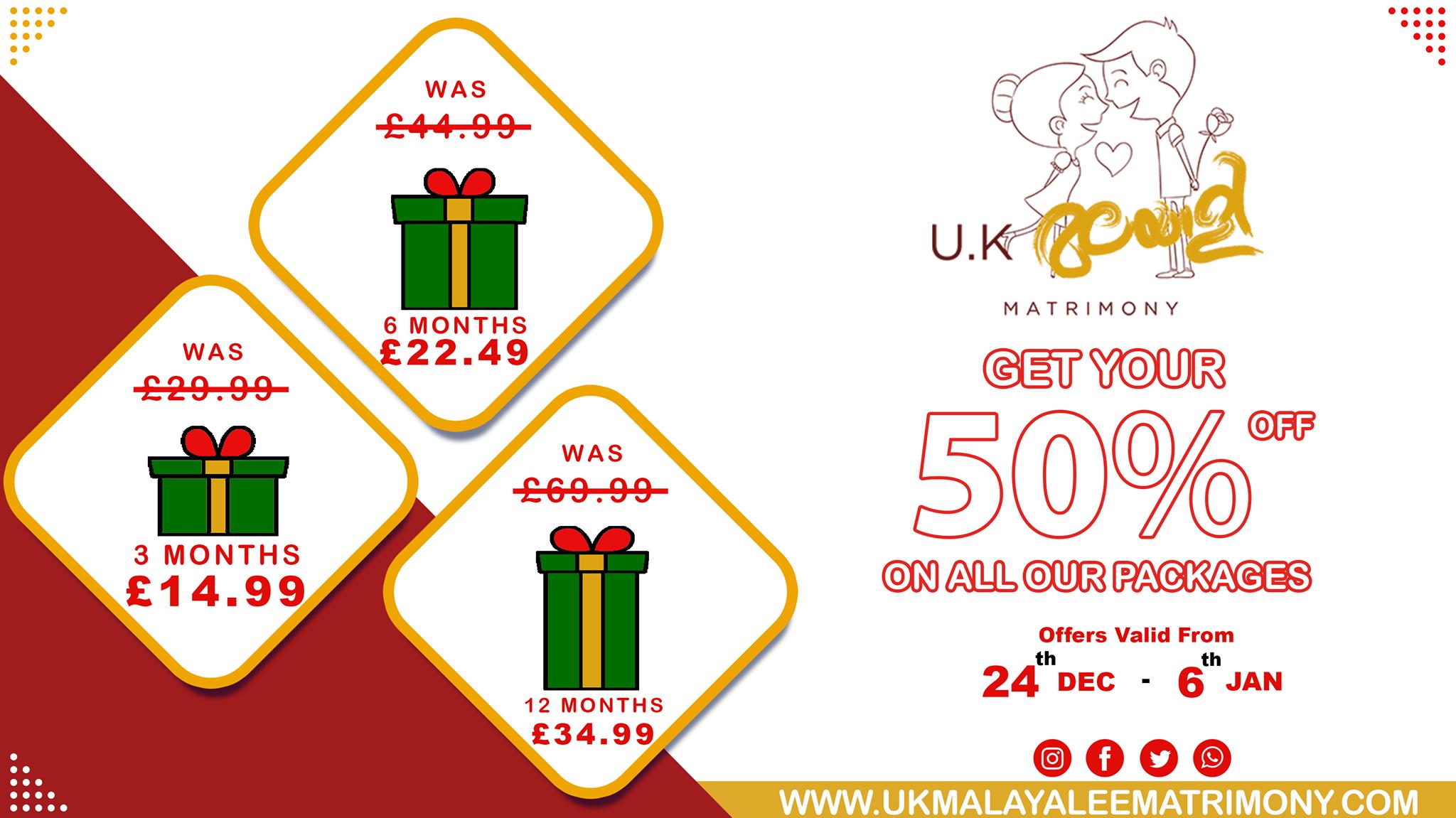Merry Christmas from UK Malayalee Matrimony