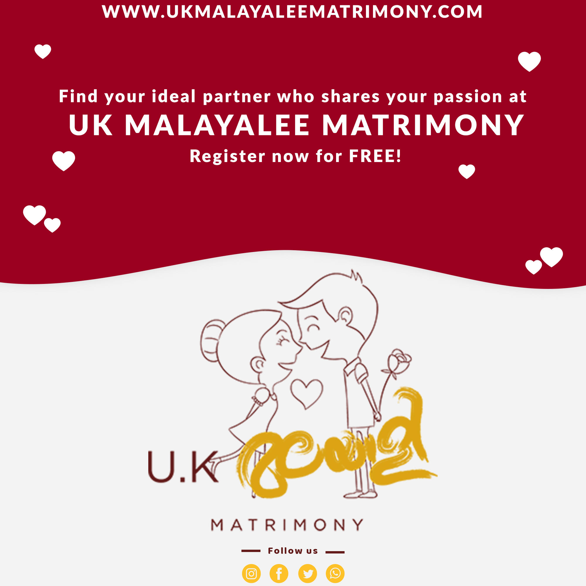 How to register on British Malayali Matrimony