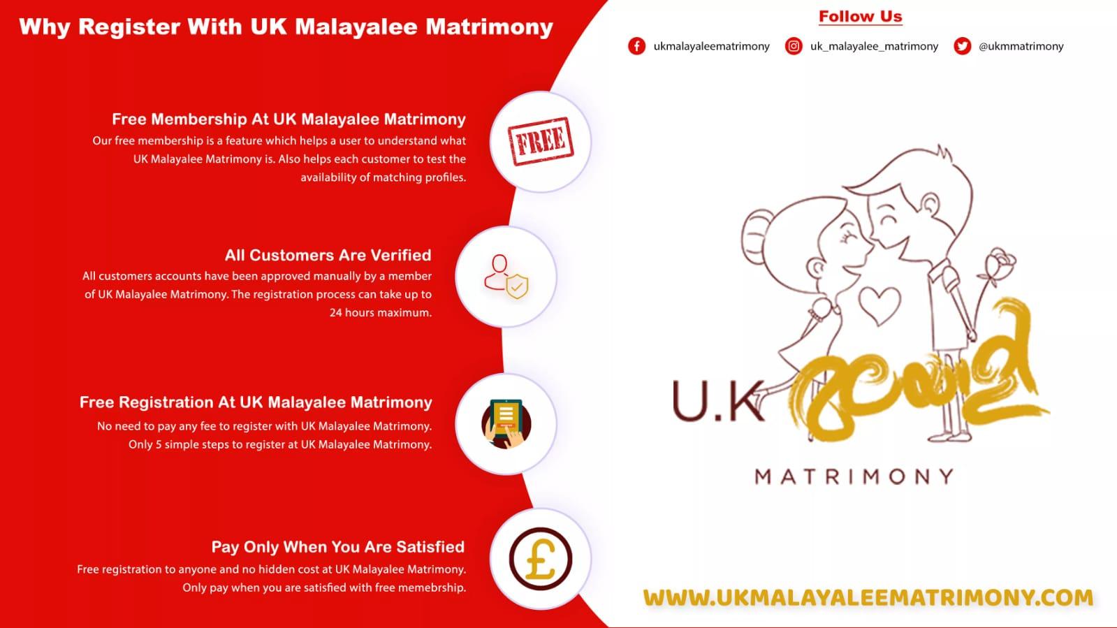 UK's first Malayali matrimony